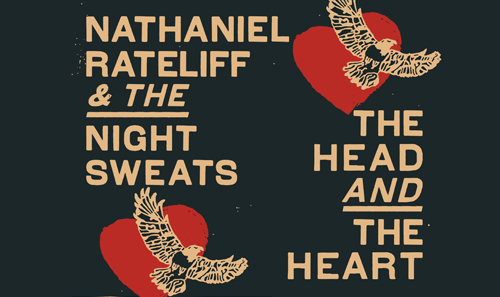 Nathaniel Rateliff & The Night Sweats + The Head and the Heart