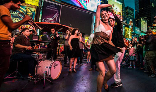 Swing Night with Svetlana and the Delancey Five