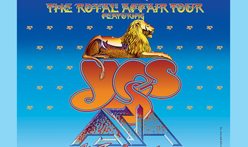 The Royal Affair: YES, ASIA, John Lodge and Carl Palmer