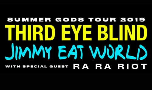 Third Eye Blind and Jimmy Eat World: Summer Gods Tour 2019