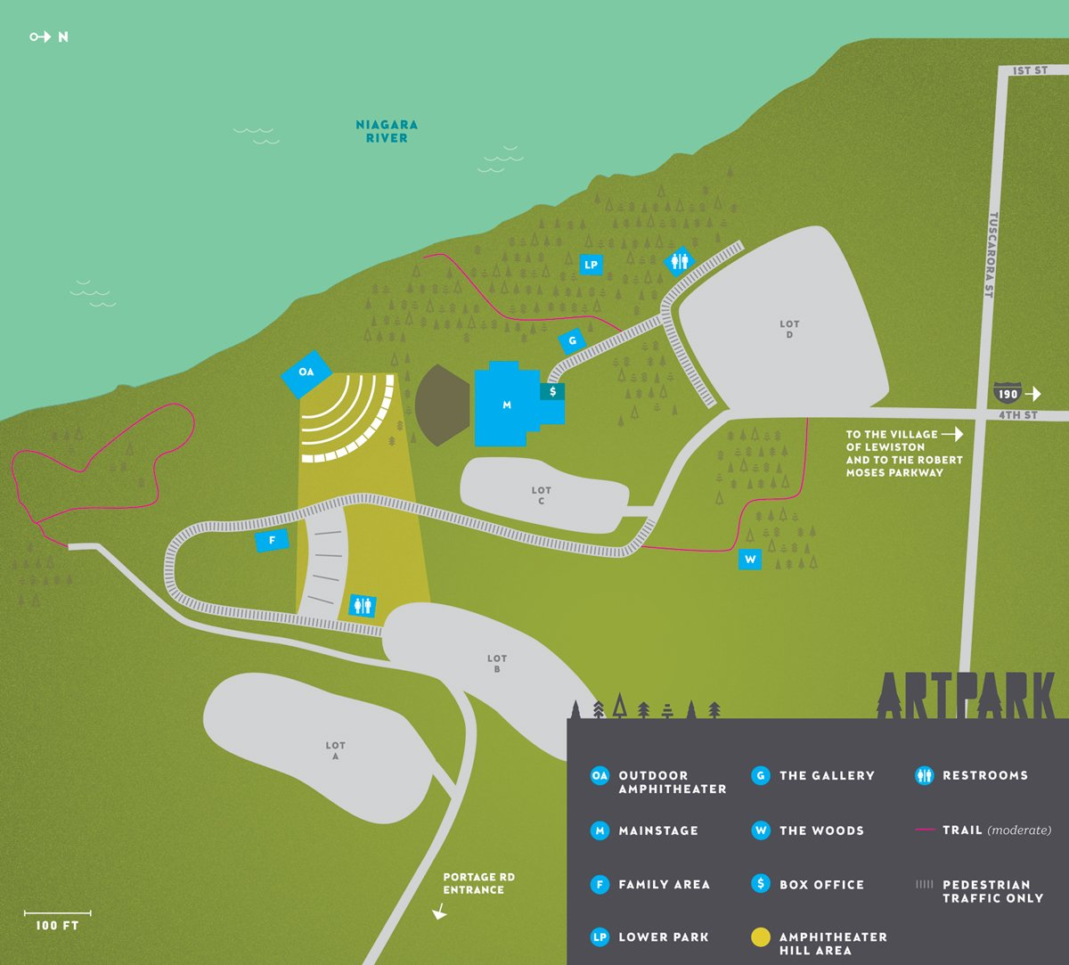 Artpark venue info park map western new york s premier